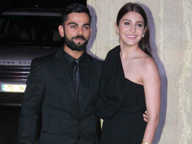 Virat Kohli with his partner Anushka Sharma (Pic. source: NDTV)