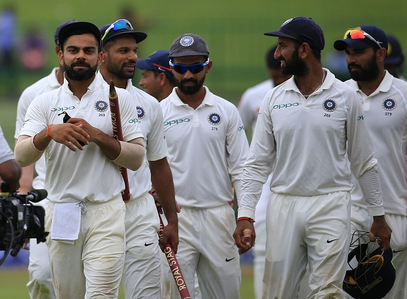 Forthcoming South Africa series will be a stern test for Kohli's troops   Getty
