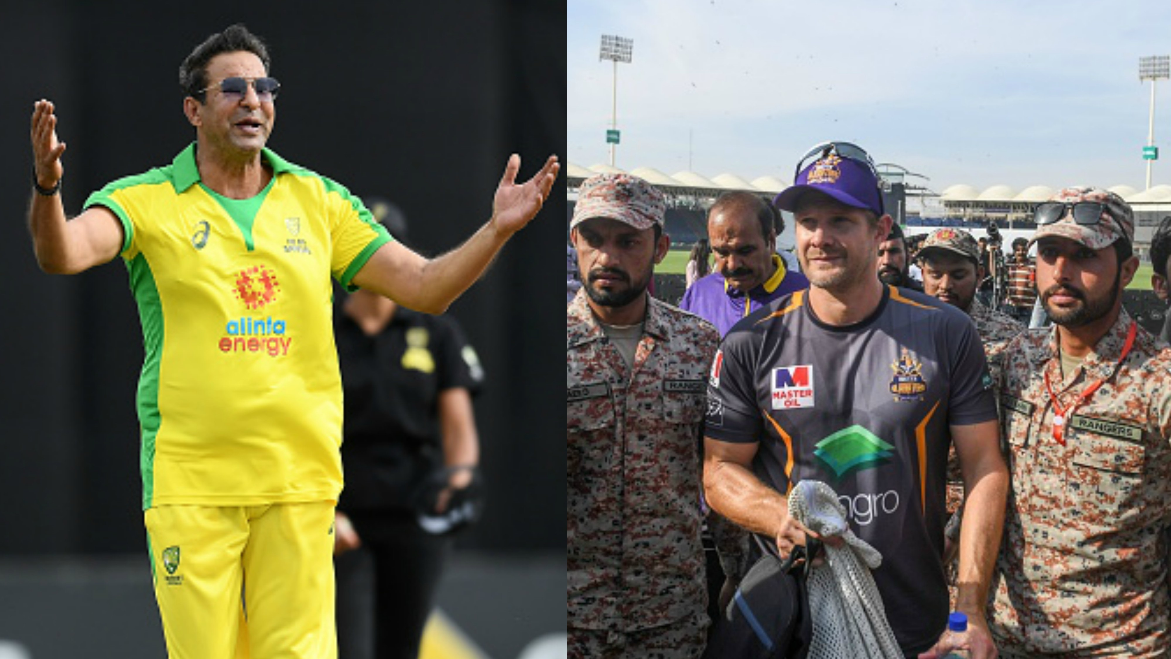 PSL 2020: Shane Watson reveals reason behind his apology to Wasim Akram during bush fire charity match