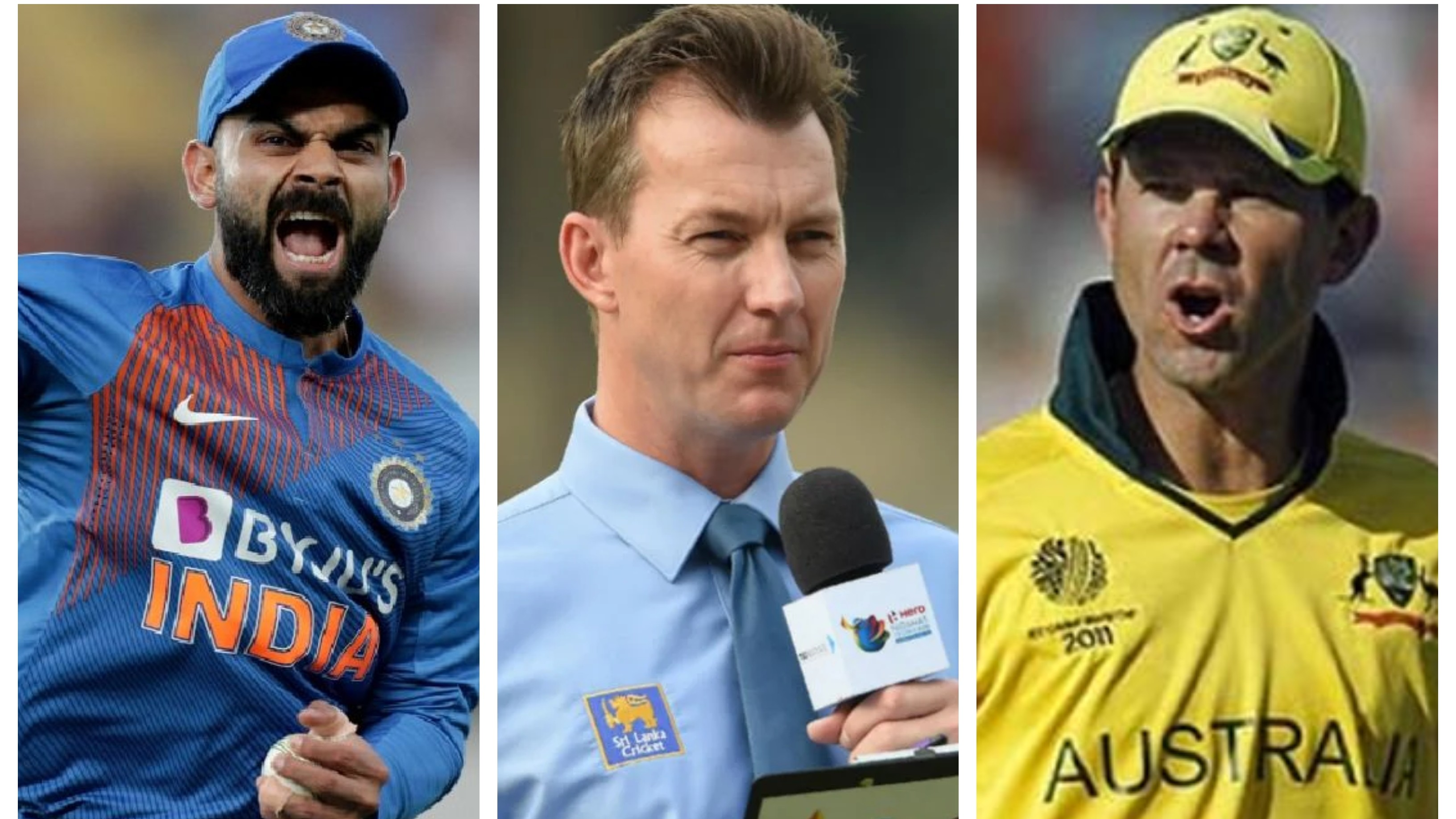 Brett Lee draws similarities between Virat Kohli and Ricky Ponting's captaincy styles