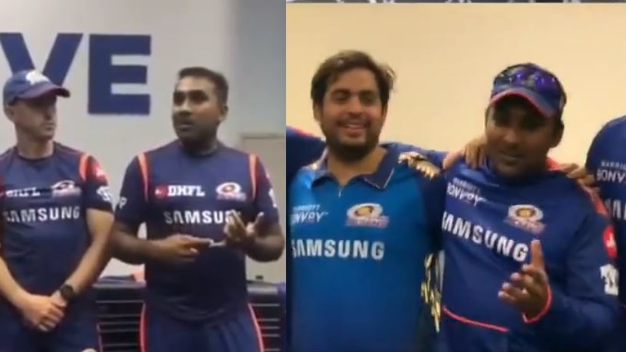 IPL 2020: WATCH- MI coach Jayawardena's team talk after IPL 13 win similar to that of IPL 2019