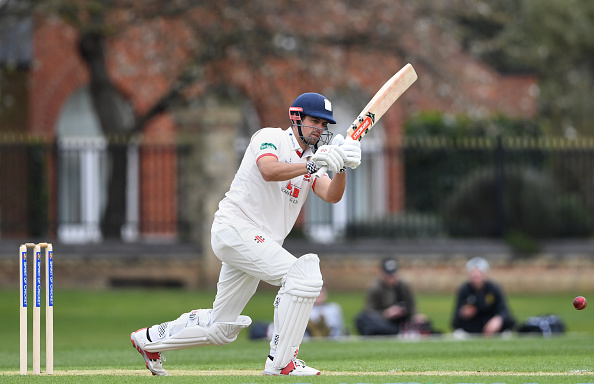 Cook scored brilliant 150 for Essex in a pre-season game against Cambridge University | Getty Images