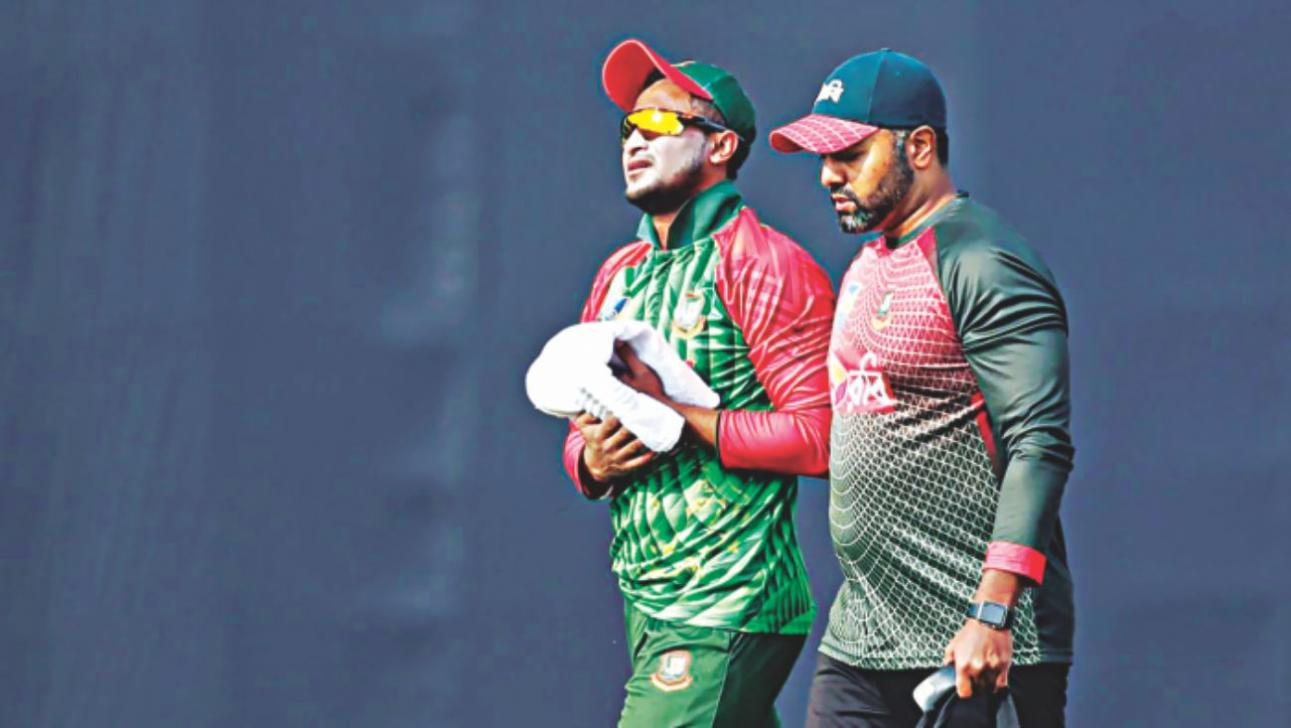 Shakib sustained the finger injury in Sri Lanka | AP
