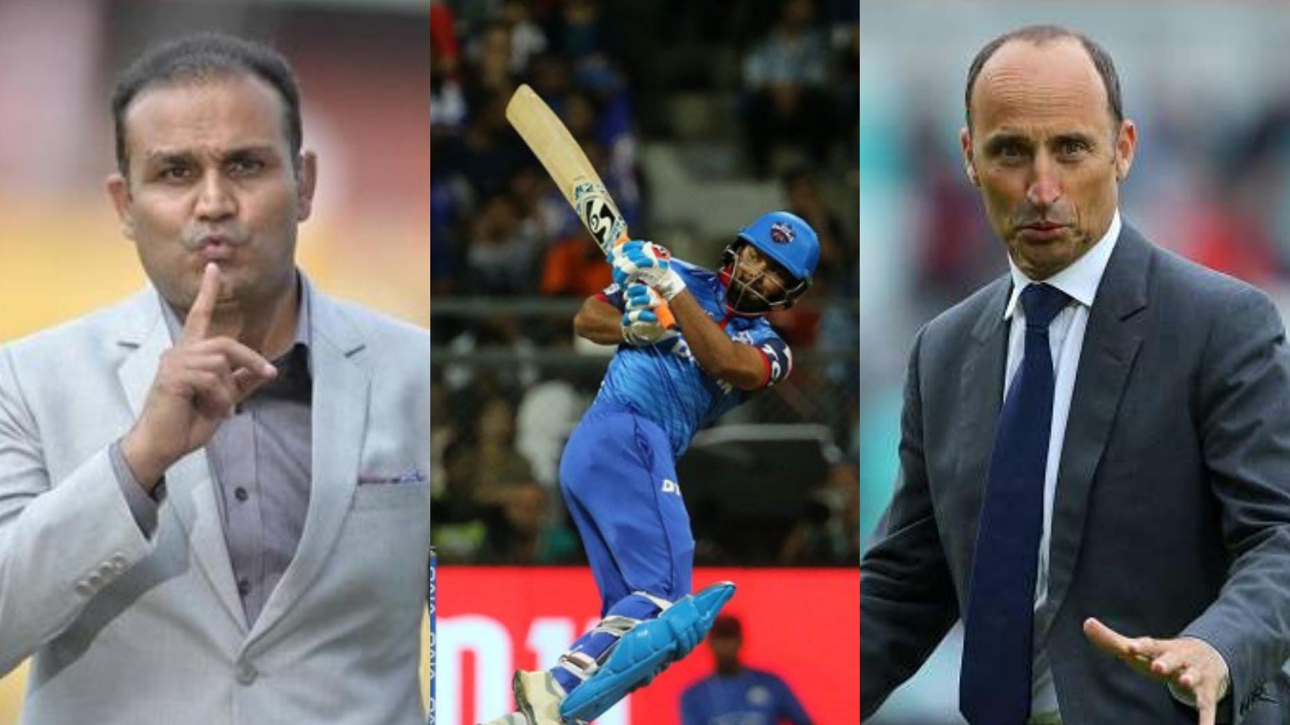 IPL 2019: Cricketing fraternity hails Rishabh Pant as he clobbers Mumbai Indians and helps DC make 213/6