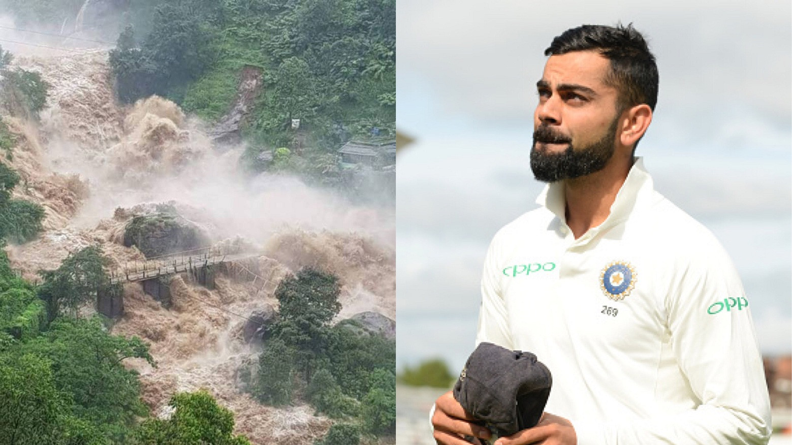 ENG v IND 2018: Team India donate their entire match fees for Kerala Flood victims