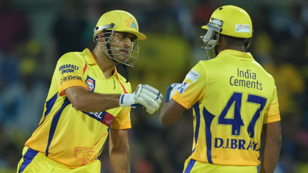 IPL 2018: MS Dhoni happy with Dwayne Bravo for stepping up at the right time