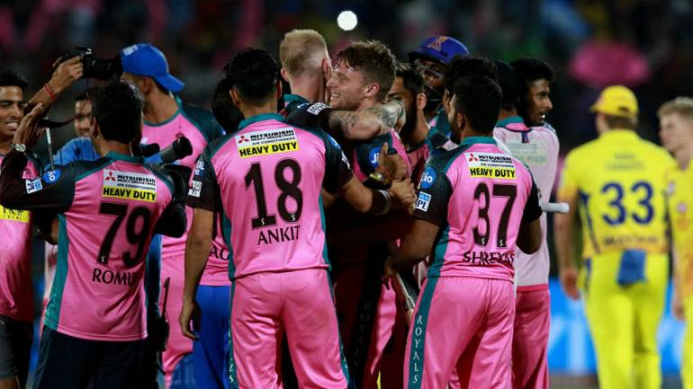 IPL 2018 : Match 43, RR vs CSK - Statistical Highlights