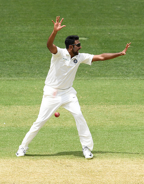 R Ashwin was India's most successful bowler with figures of 3/50   Getty