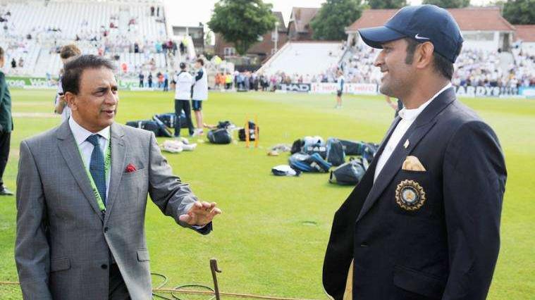 सुनील गावस्कर ने विश्व कप से पहले एमएस धोनी को दी एक सलाह