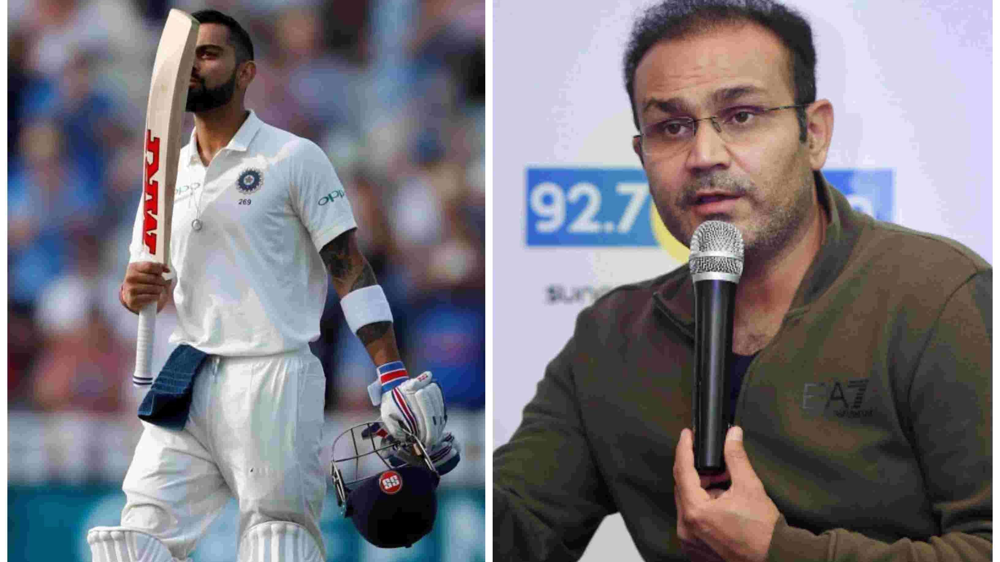 ENG v IND 2018: Kohli's prolific run-scoring will take India to a series triumph, reckons Virender Sehwag