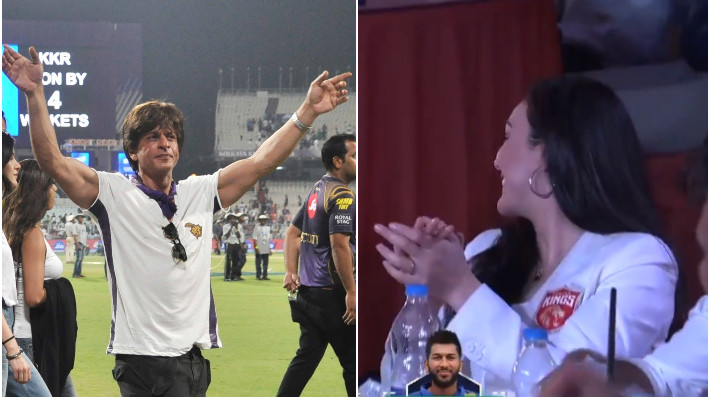 IPL 2021: WATCH - Preity Zinta shows priceless reaction after buying 'Shahrukh Khan' in the auction