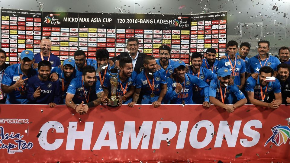 India are the defending champions of Asia Cup