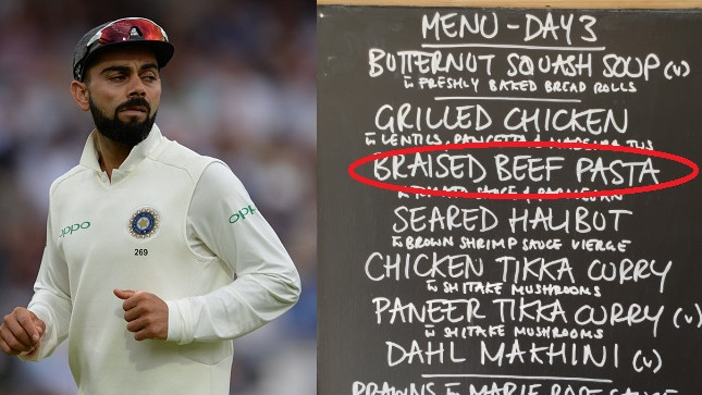 ENG v IND 2018: Beef in Indian cricket team's lunch menu displeases fans on Twitter