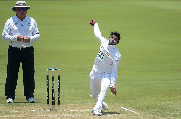 Hasaranga had a brilliant Test debut, making 59 and taking 4 wickets | Getty