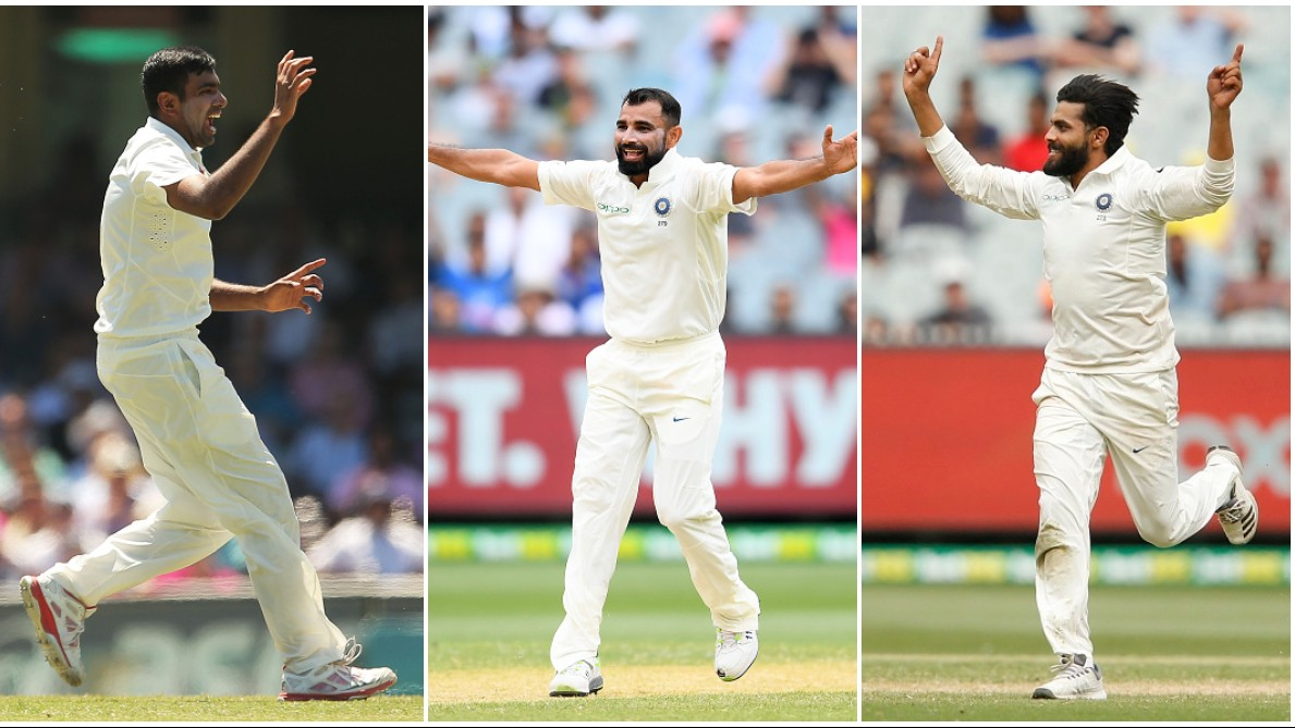 IND v SA 2019: Indians fans express their love for Ashwin-Jadeja-Shami trio which dismantled Proteas