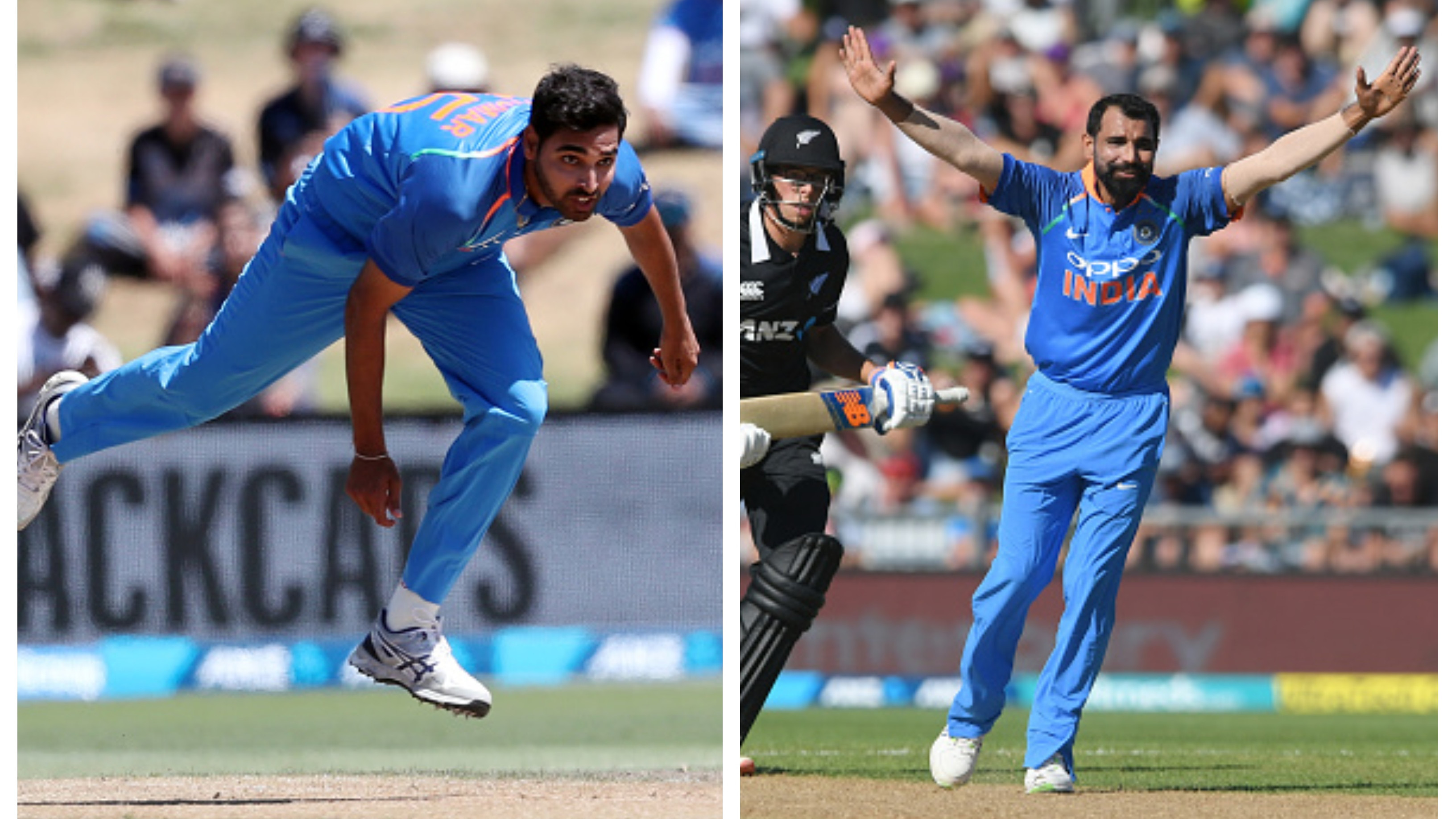 NZ v IND 2019: Bowling with Shami has been a good experience, says Bhuvneshwar Kumar
