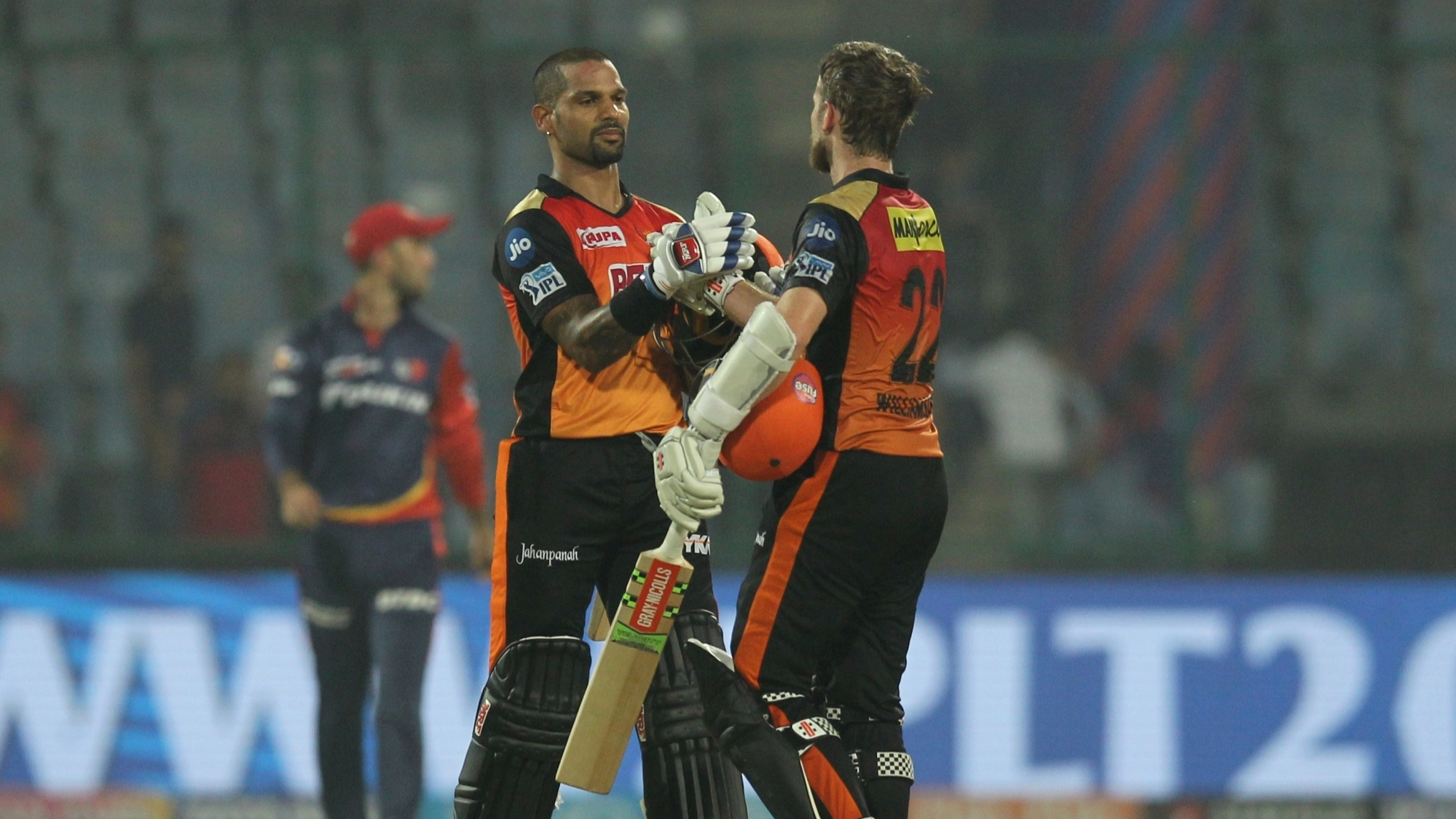 "IPL 2018: Kane Williamson lauds ""outstanding"" Shikhar Dhawan after securing Playoffs berth"