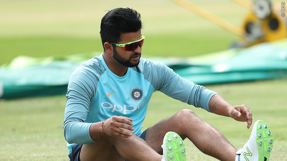 Suresh Raina back to training ground after South Africa tour
