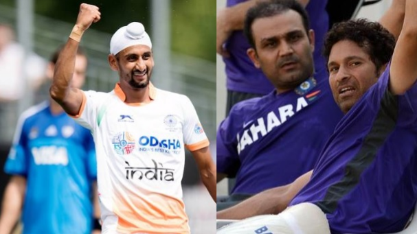 Sachin Tendulkar and Virender Sehwag lauds the Indian hockey team for win over Argentina