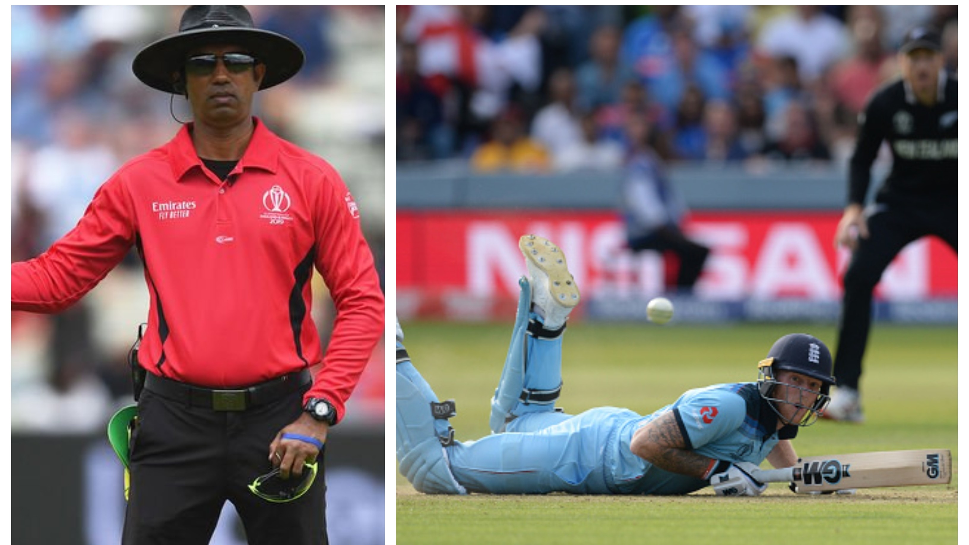 CWC 2019: Dharmasena denies being asked by Stokes to take overthrow runs back
