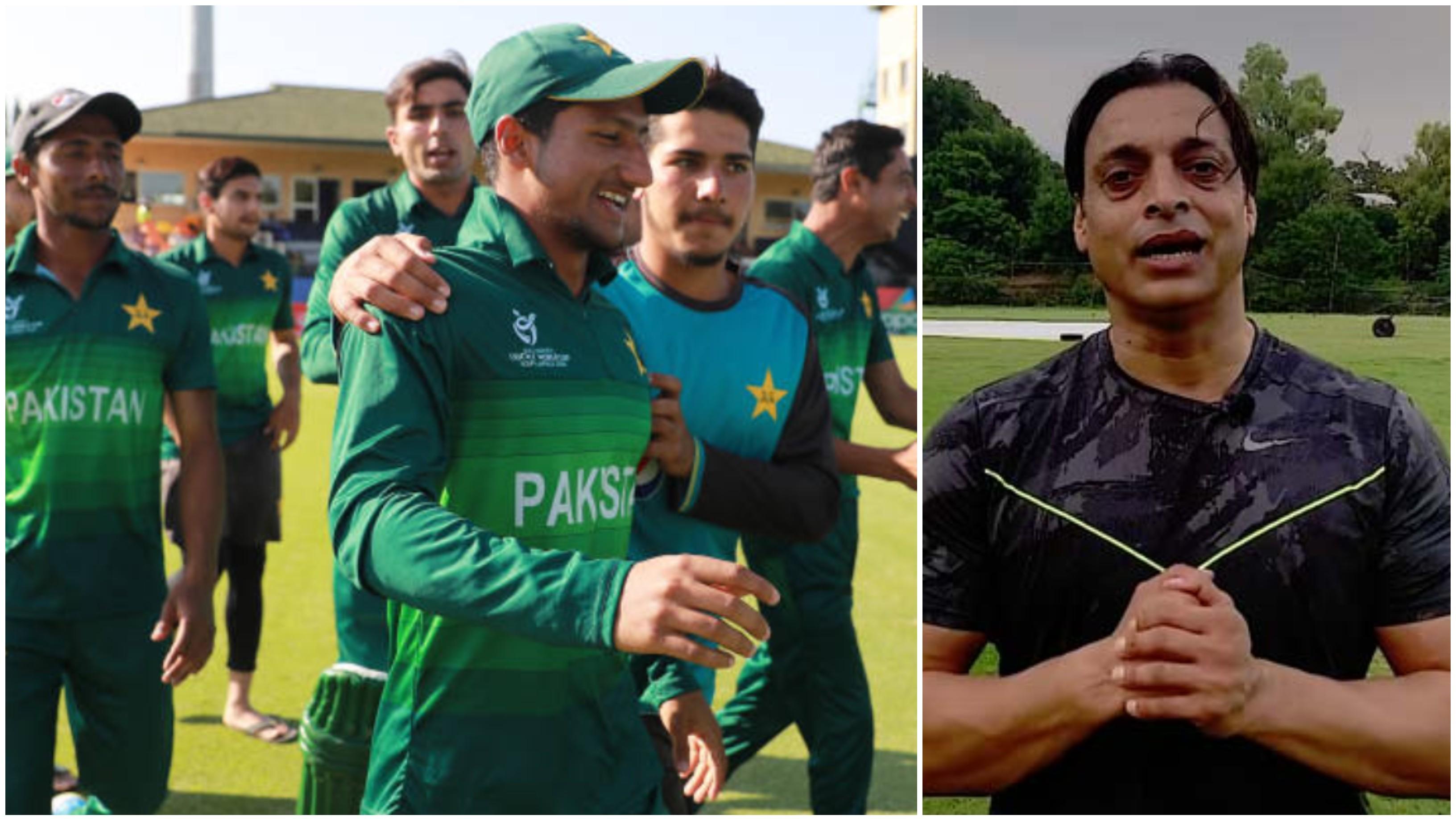शोएब अख्तर ने अंडर-19 विश्वकप सेमीफाइनल में भारत से मिली हार के बाद के बाद पीसीबी को लगाईं फटकार
