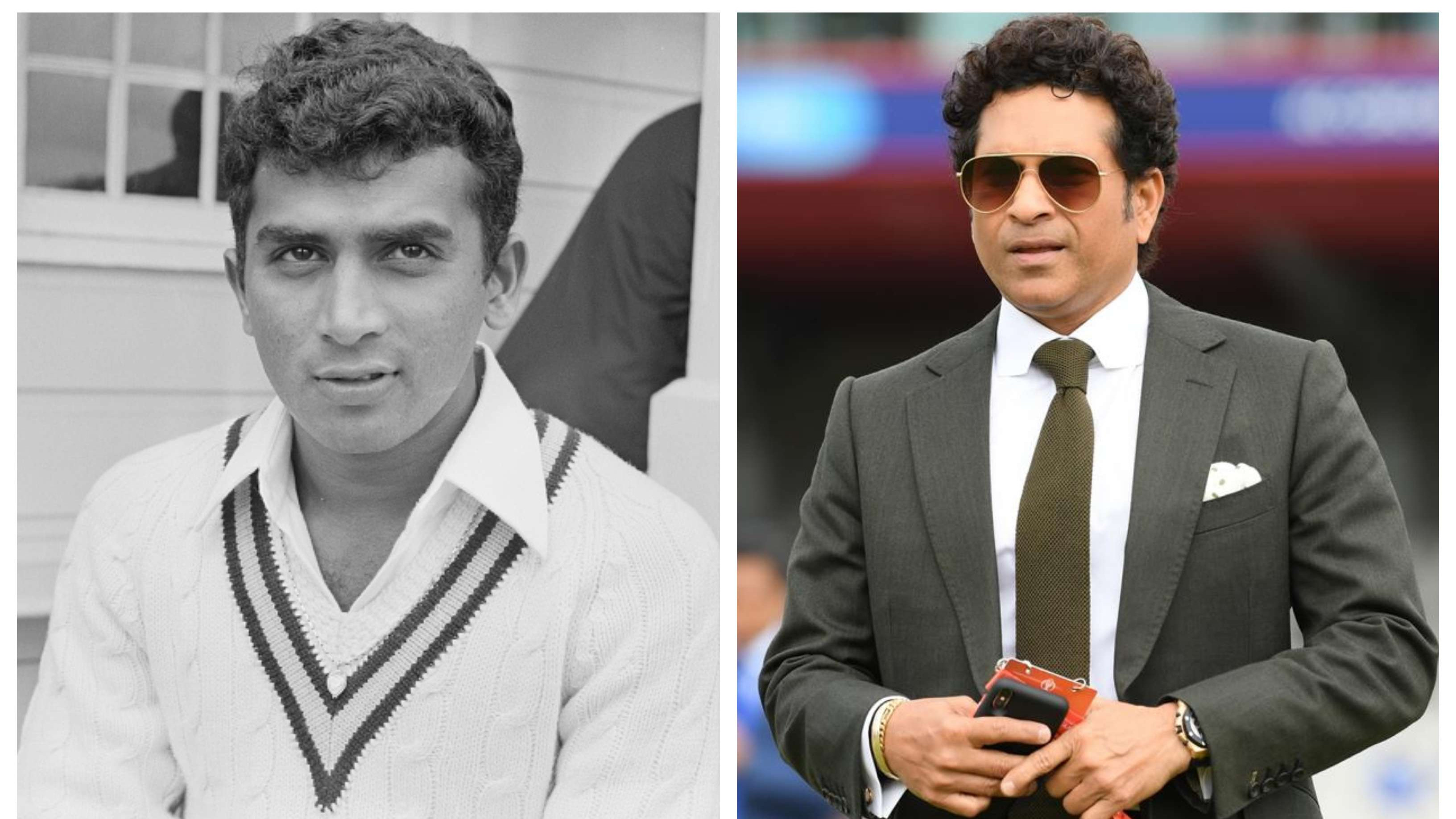Sachin Tendulkar leads the tributes on 50th anniversary of Sunil Gavaskar's Test debut