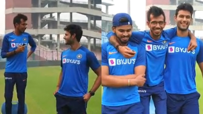 IND v BAN 2019: WATCH- Shreyas Iyer reveals what made Shivam Dube go for five sixes in an over
