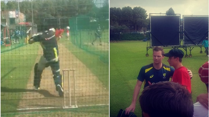 SA v AUS 2020: WATCH - 16-year-old schoolboy troubles Steve Smith with a quick bouncer in the nets