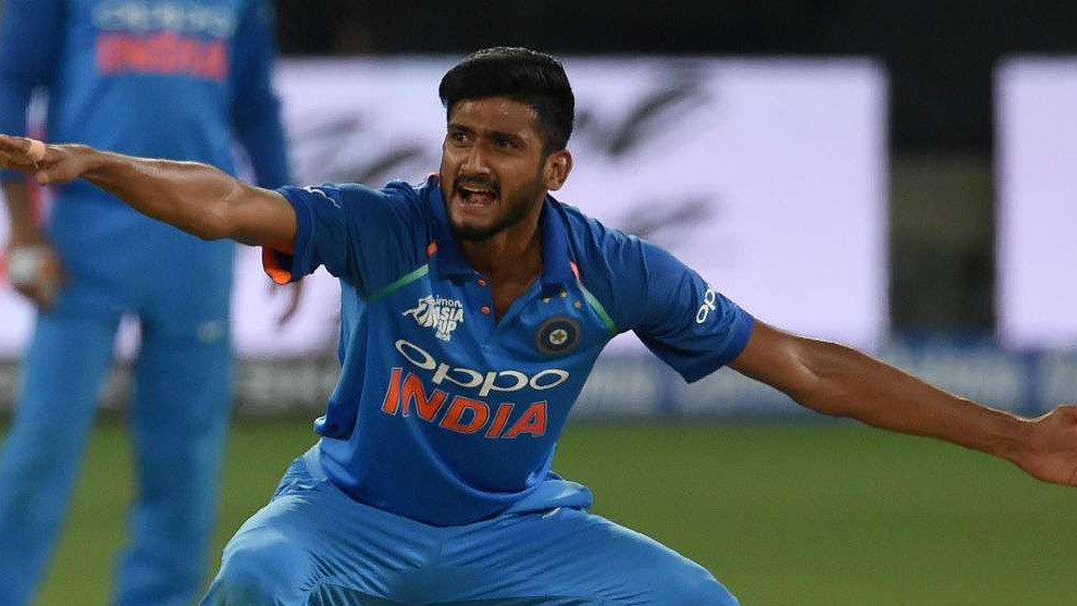 IND v WI 2018: Khaleel Ahmed looks for rich haul of wickets in hope of 2019 World Cup selection