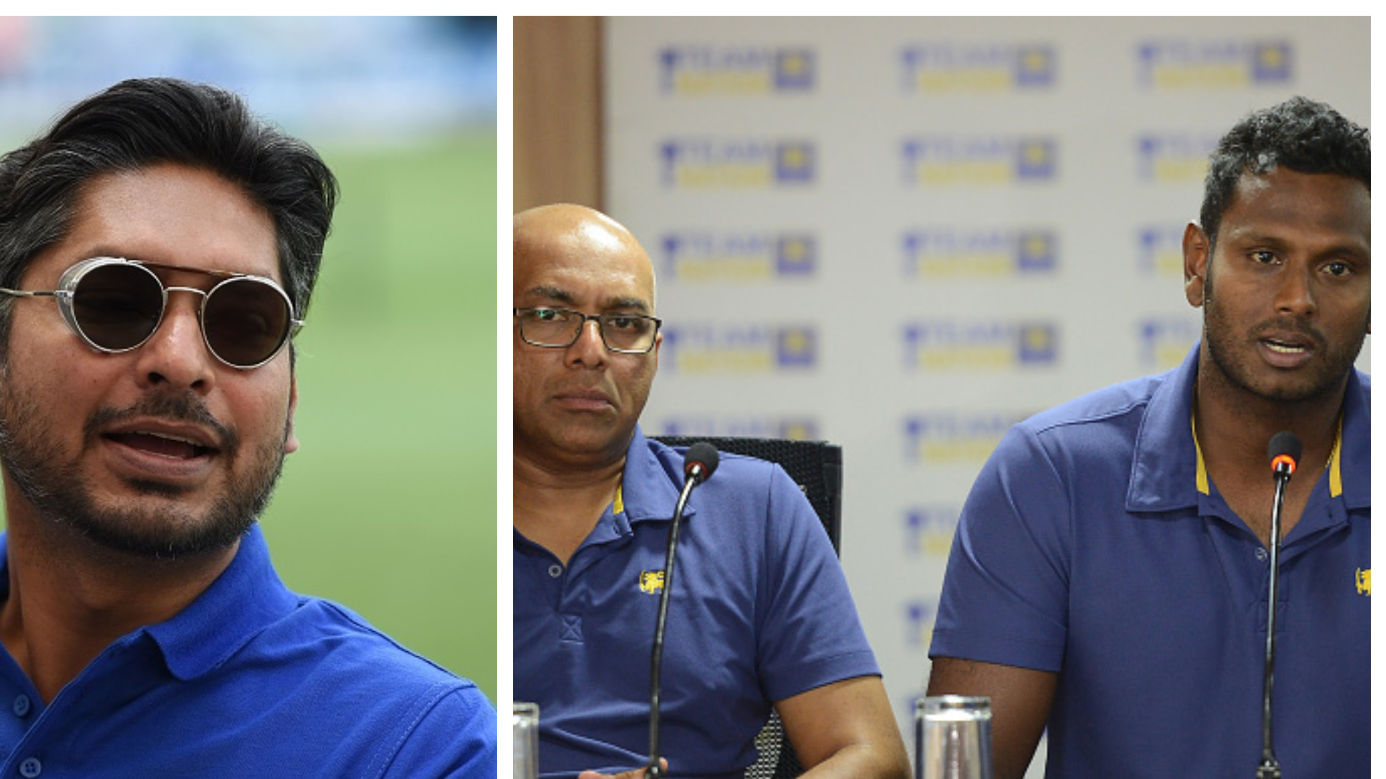 Kumar Sangakkara wants Hathurusinghe and Mathews to resolve their issues and move forward