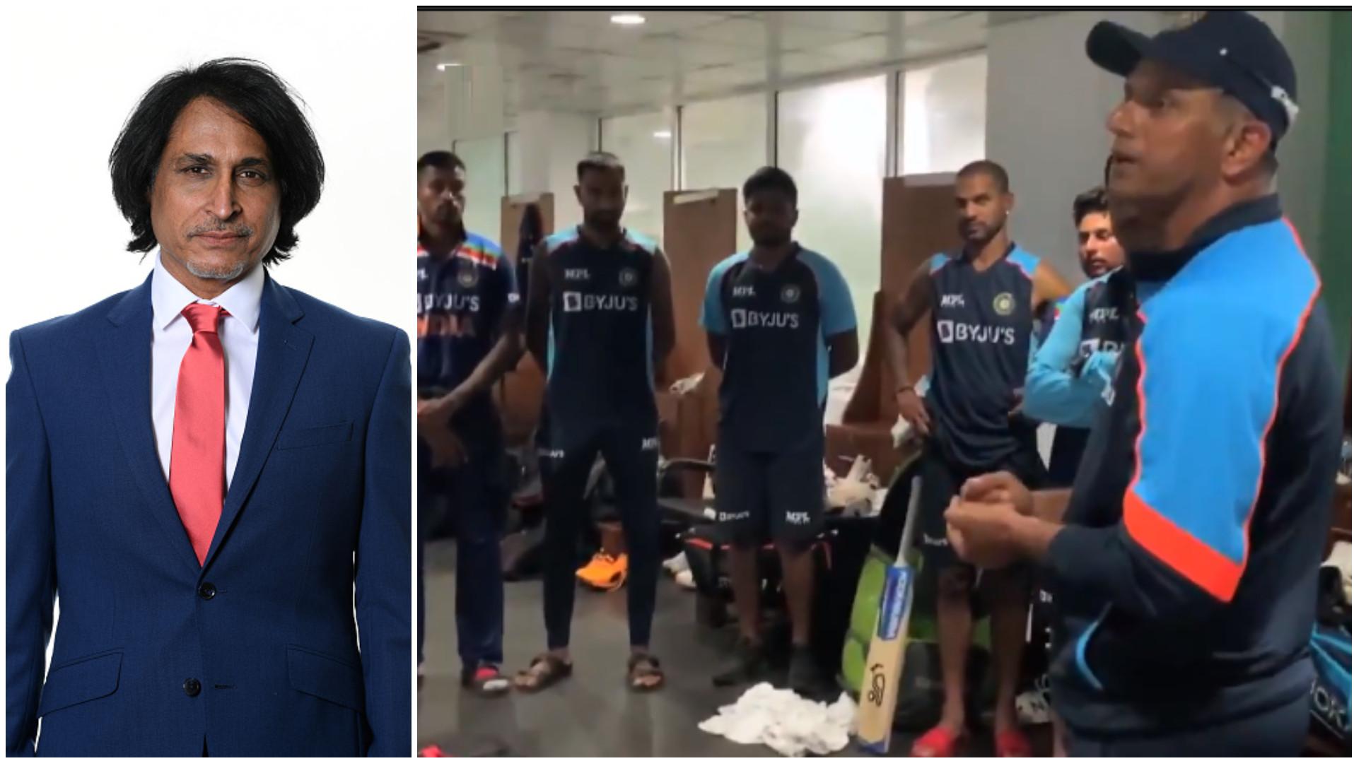 SL v IND 2021: Ramiz Raja lauds coach Rahul Dravid after India's win in 2nd ODI