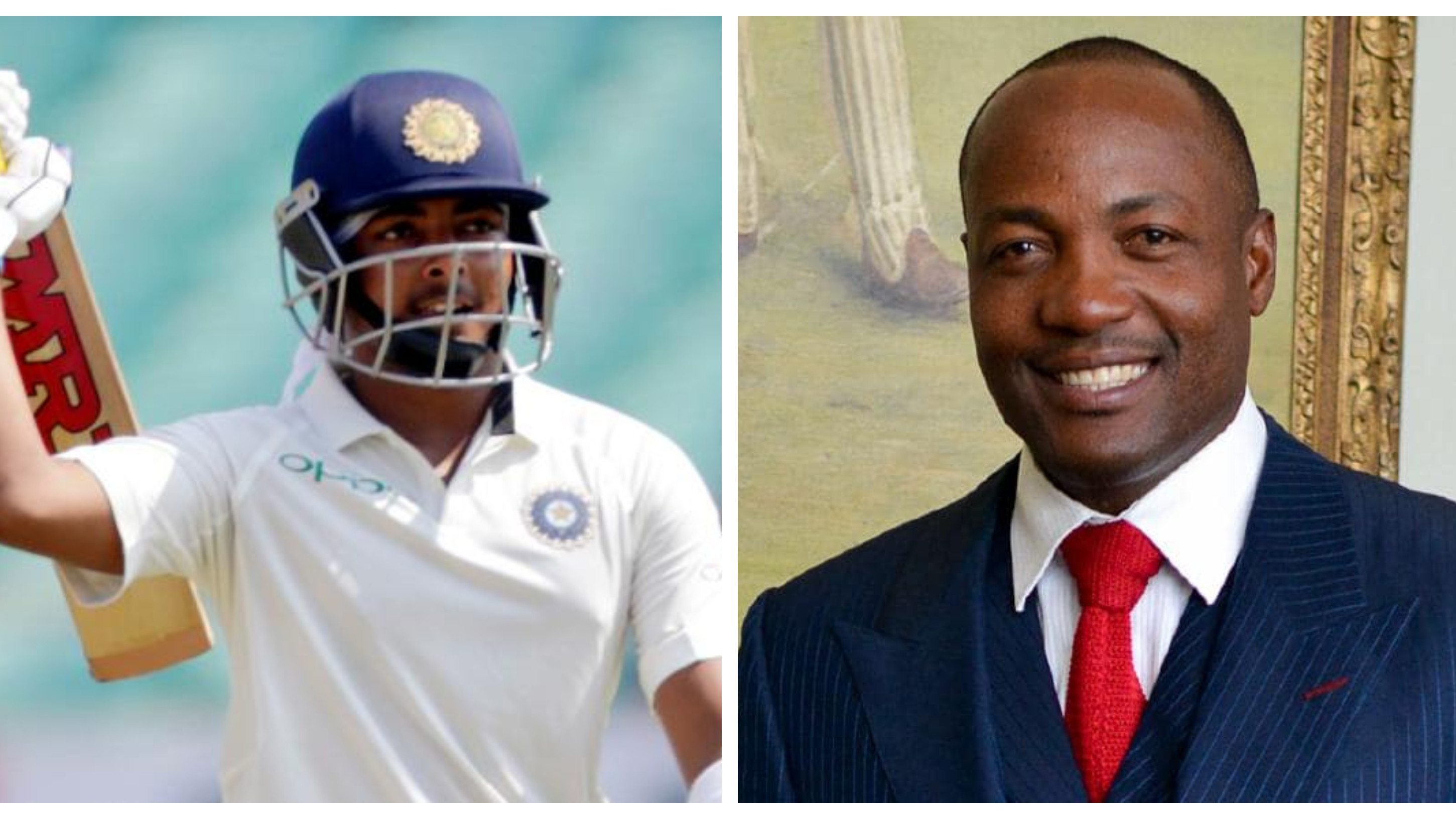 Prithvi Shaw has the mental strength to do well in Australia, says Brian Lara
