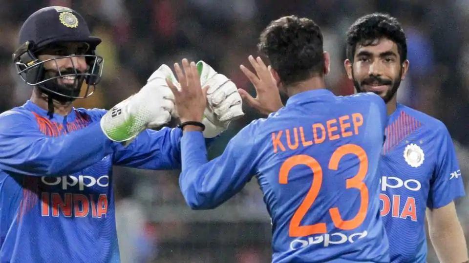 Kuldeep Yadav and Jasprit Bumrah were also chosen in Azam's Ind-Pak T20I Xi