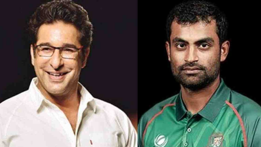 """Bangladesh has improved a lot in last 10-12 years,"" Wasim Akram tells Tamim Iqbal"