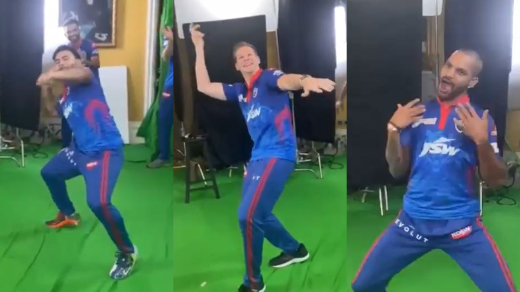 IPL 2021: WATCH- Delhi Capitals players shake a leg to Vaathi Coming song