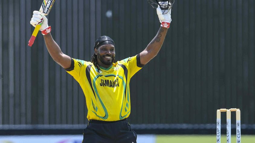 Chris Gayle retires from List A cricket for Jamaica with a century