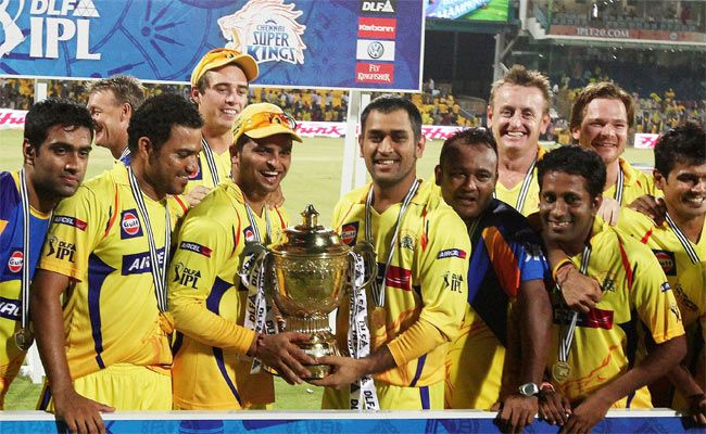 Chennai Super Kings IPL 2011 win