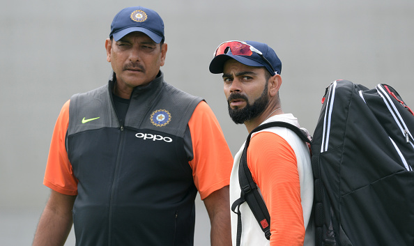 Ravi Shastri and Virat Kohli seems to have a rare difference of opinion on a matter. | Getty