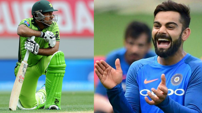 Asia Cup 2018: Fans compare Sarfraz Ahmed's career-best yo-yo test score with Virat Kohli