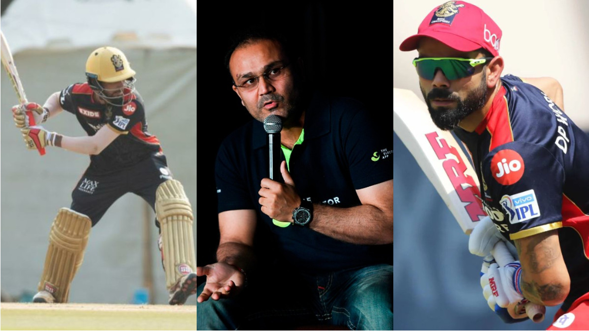 IPL 2021: Sehwag suggests RCB opens with Azharuddeen and Padikkal; wants Virat to bat at no.3