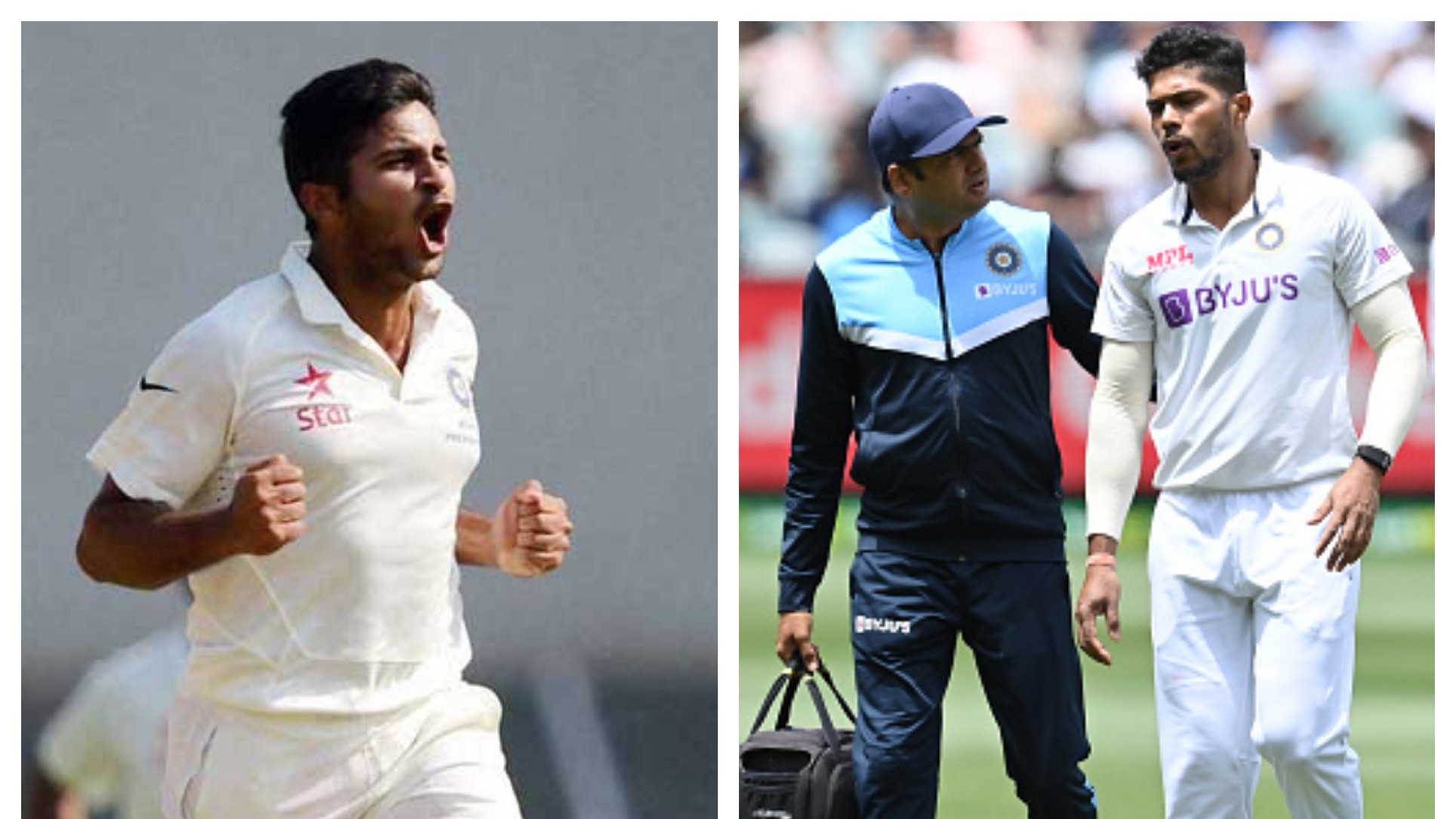 AUS v IND 2020-21: Shardul Thakur likely to get the nod for third Test with Umesh Yadav ruled out of the series