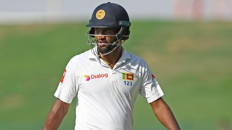 Dimuth Karunaratne doubtful for West Indies tour
