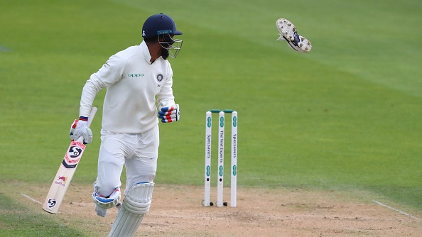 ENG v IND 2018: WATCH- KL Rahul loses his shoe and commentators burst into laughter