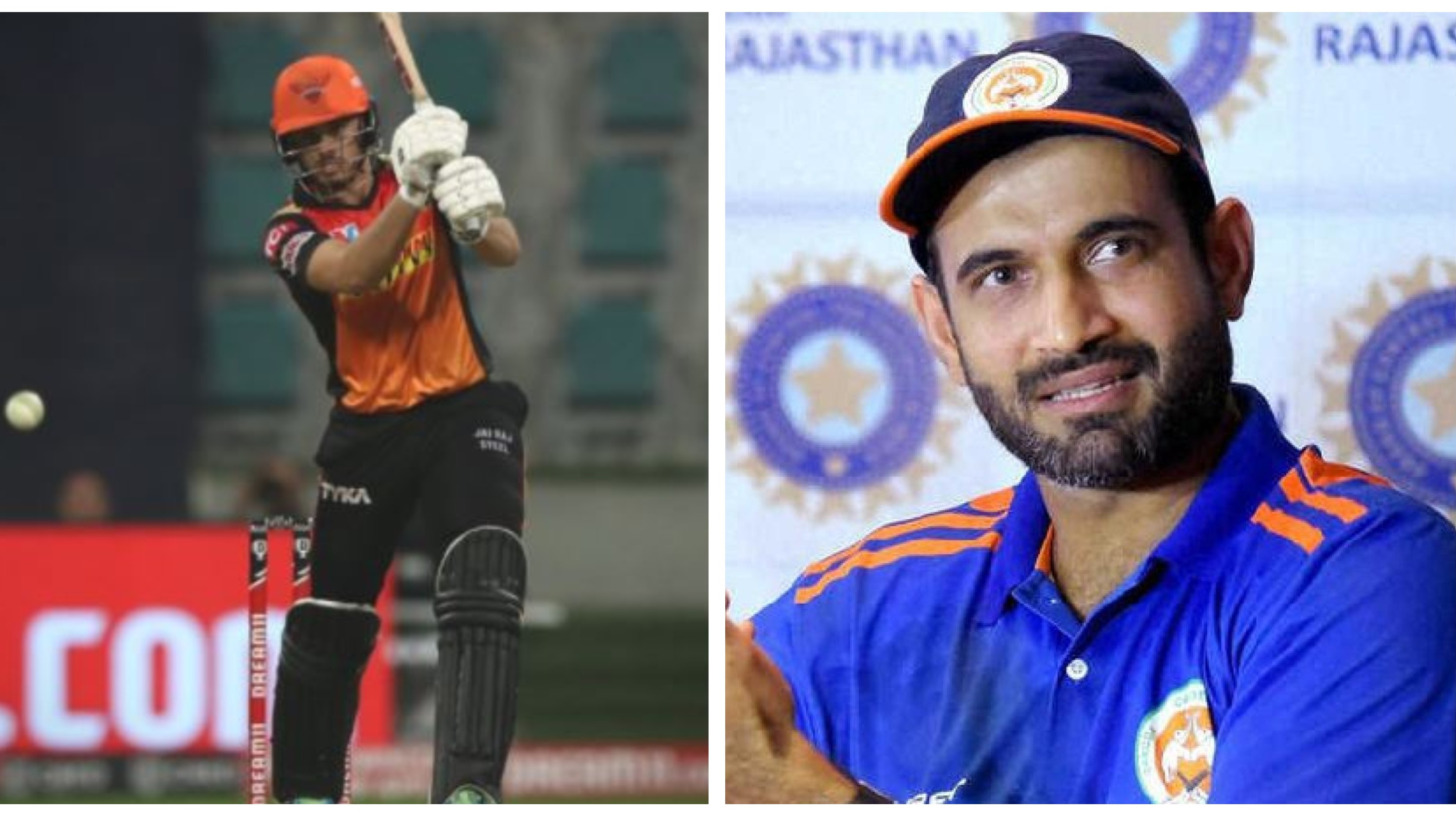 IPL 2020: WATCH - Abdul Samad reveals how Irfan Pathan helped him overcome lack of patience