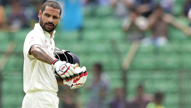 Shikhar Dhawan. (Getty)