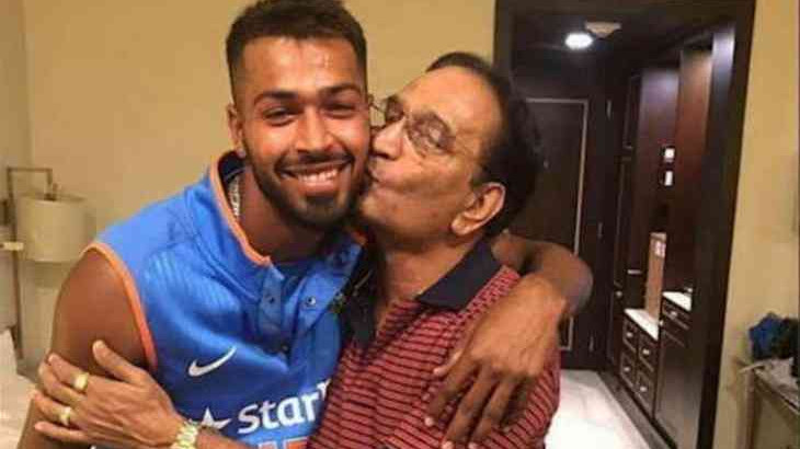 Hardik Pandya's father comes in his support after he received a lot of flak