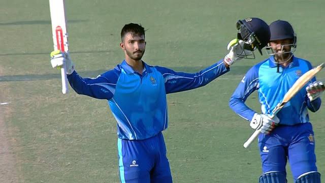 Devdutt Padikkal celebrates his ton against Kerala | Twitter