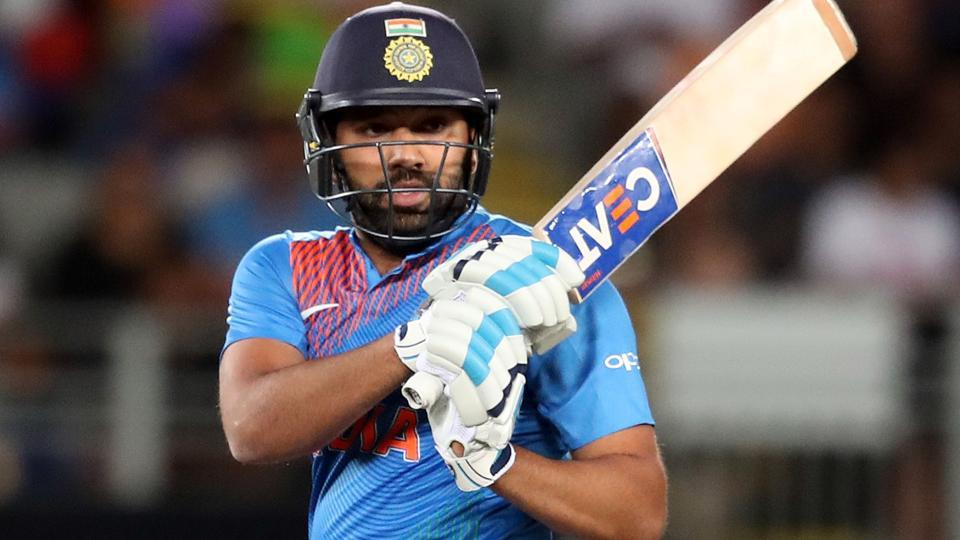 Rohit Sharma will leave behind Shahid Afridi, who played 99 T20I matches | AFP