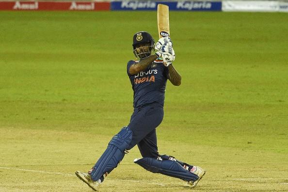 Suryakumar Yadav hit his maiden ODI fifty in his second match   Getty