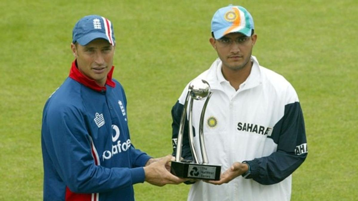 Sourav Ganguly and Nasser Hussain engage in a funny banter over 'NatWest series 2002'